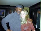 Lou Gossett Jr.and Sharon