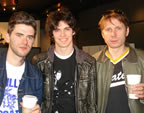 Luke with Franz Ferdinand